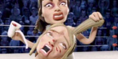 Lindsay Lohan maltrata sin misericordia a Hilary Duff. Foto:vía MTV