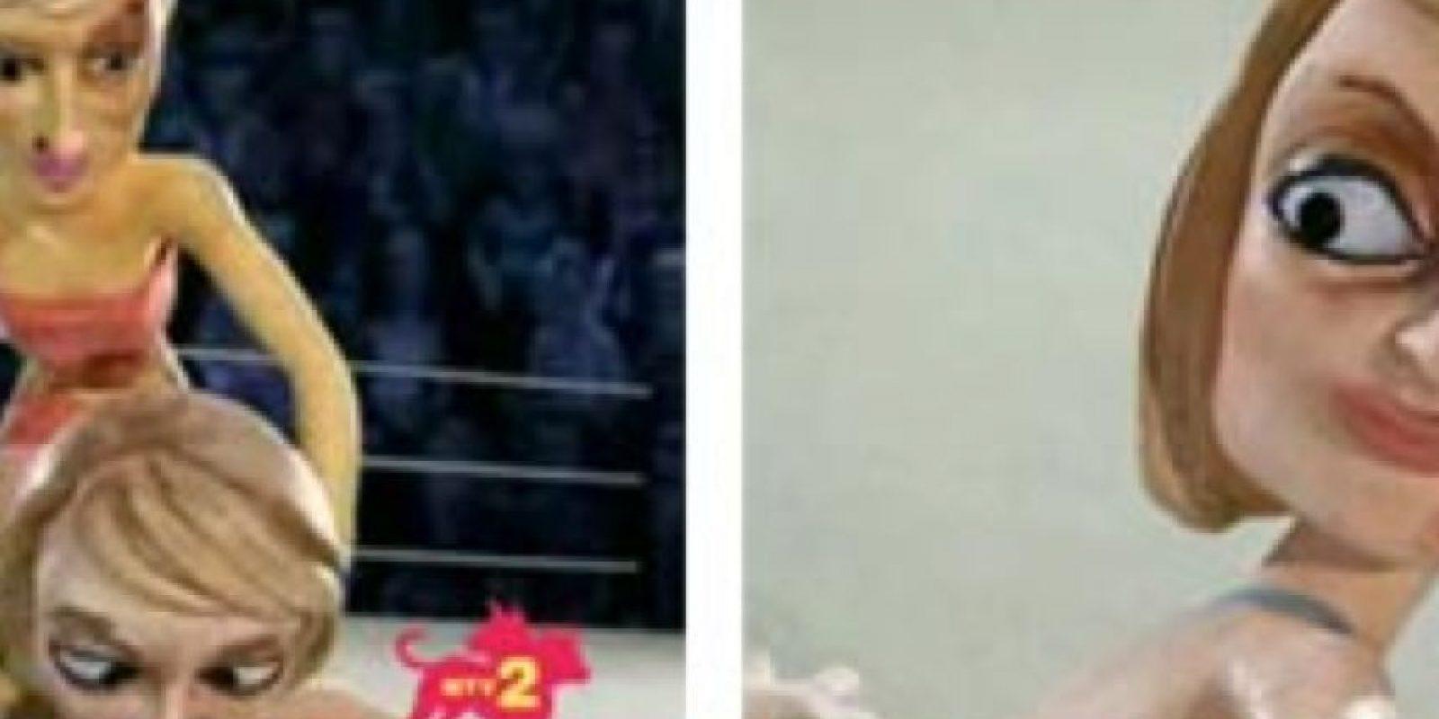 Las dos se someten a humillantes torturas. Foto:vía MTV