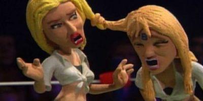 Britney Spears y Christina Aguilera también se enfrentaron. Foto:vía MTV