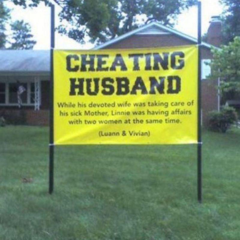 Poner todo al frente de la casa. Foto:vía FunnyJunk