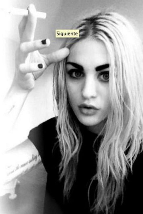Falleció el 5 de abril de 1994 Foto: Vía facebook.com/pages/Frances-Bean-Cobain