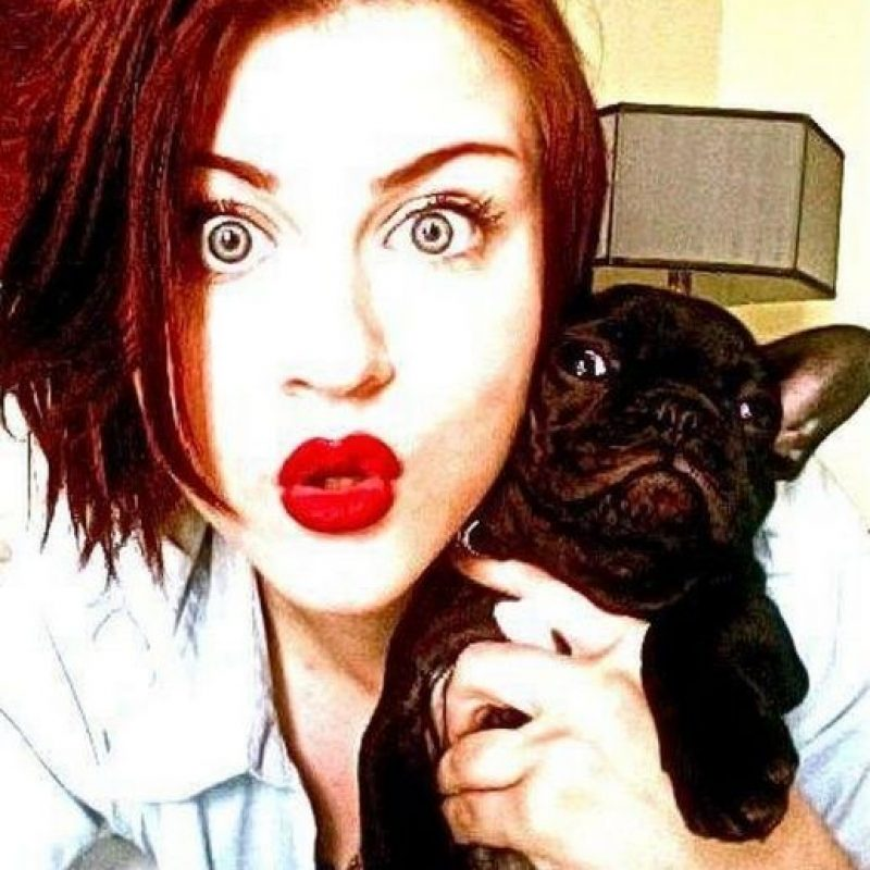 Foto: Vía facebook.com/pages/Frances-Bean-Cobain