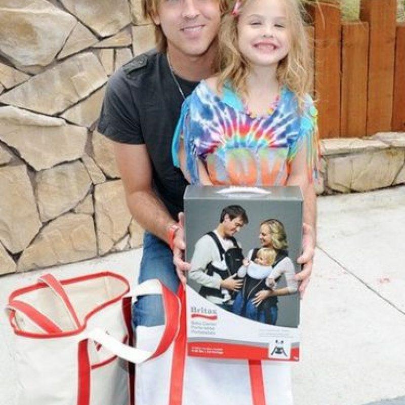 Su hija Dannielynn Marshall tiene 8 años Foto:Vía facebook.com/DannielynnHope
