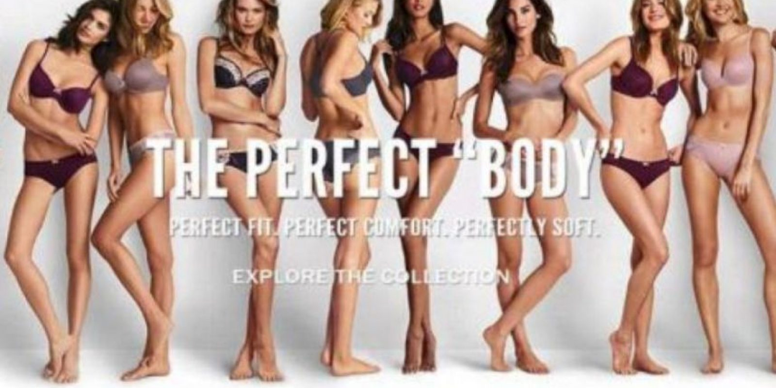 El año pasado, Victoria´s Secret hizo esta campaña. Foto:vía Twitter/Perfect Body