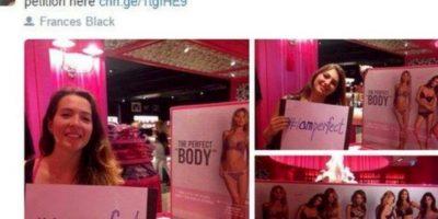 Indignó a mujeres de todo el mundo. Foto:vía Twitter/Perfect Body