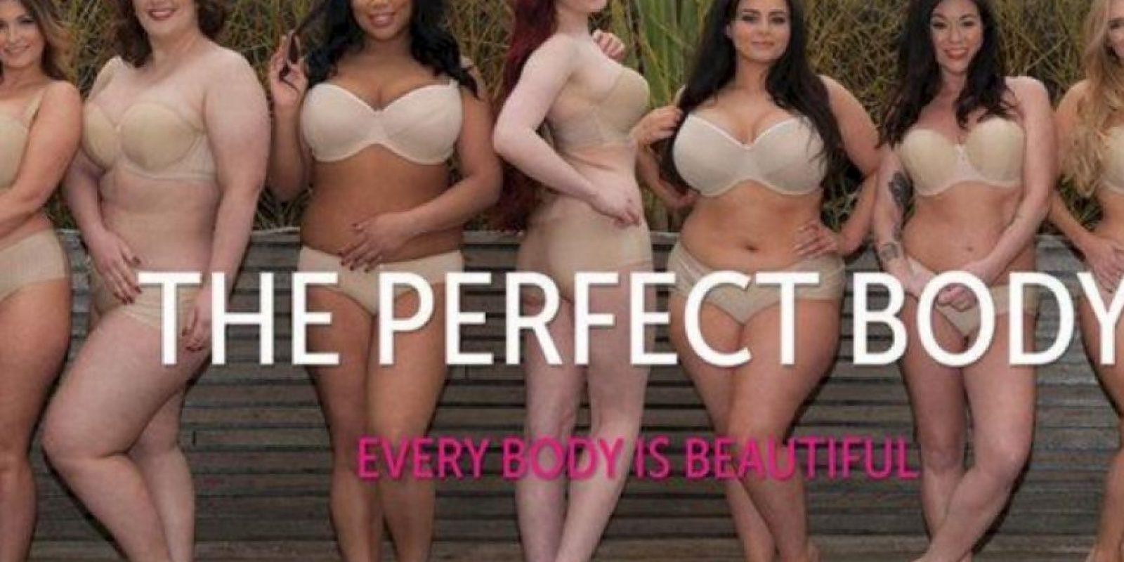 Ellas se opusieron al modelo que la compañía ofrecía, en apariencia. Foto:vía Twitter/Perfect Body