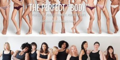 Posaron mujeres de distintas tallas. Foto:vía Twitter/Perfect Body