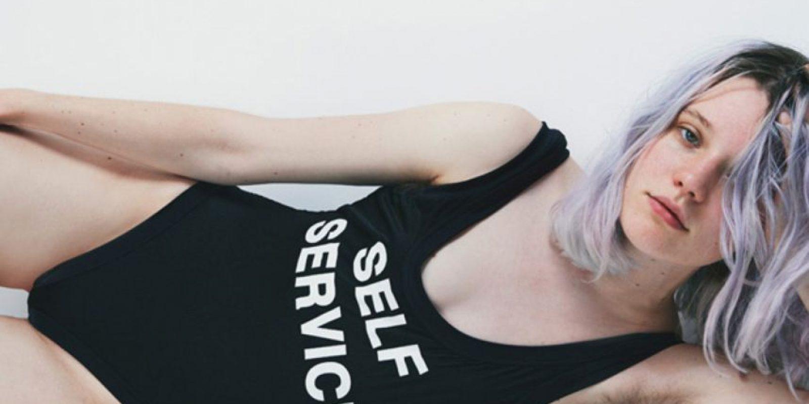 Arvyda Bÿstrom es la modelo de 23 años que reivindica un movimiento que ya había tomado fuerza desde hace dos años. Foto:vía Filles à Papa