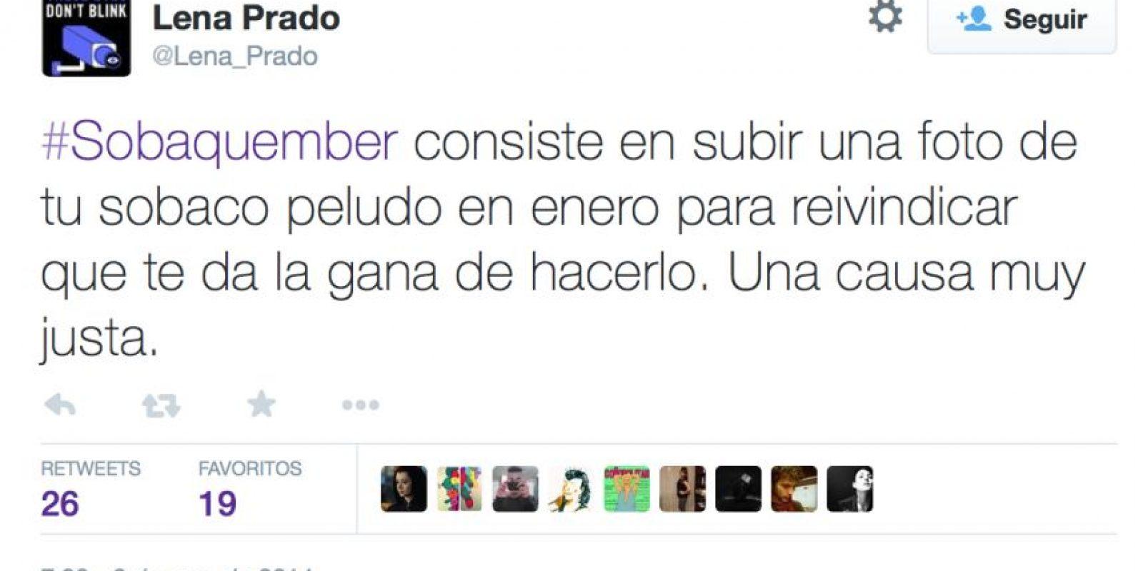 Fue creado en España. Este buscaba reivindicar a las mujeres con axilas. Foto:vía Twitter
