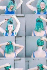 Todo inició cuando la peluquera Roxie Hunt puso un post en su blog con sus axilas teñidas. Ella, peluquera de un famoso salón de Seattle llamado Vain (conocido por tener principios feministas), decidió experimentar sobre los efectos del tinte en esta parte del cuerpo. Foto:vía Instagram