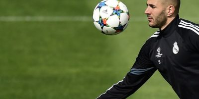 Benzema abandona entrenamiento y es baja ante el Málaga