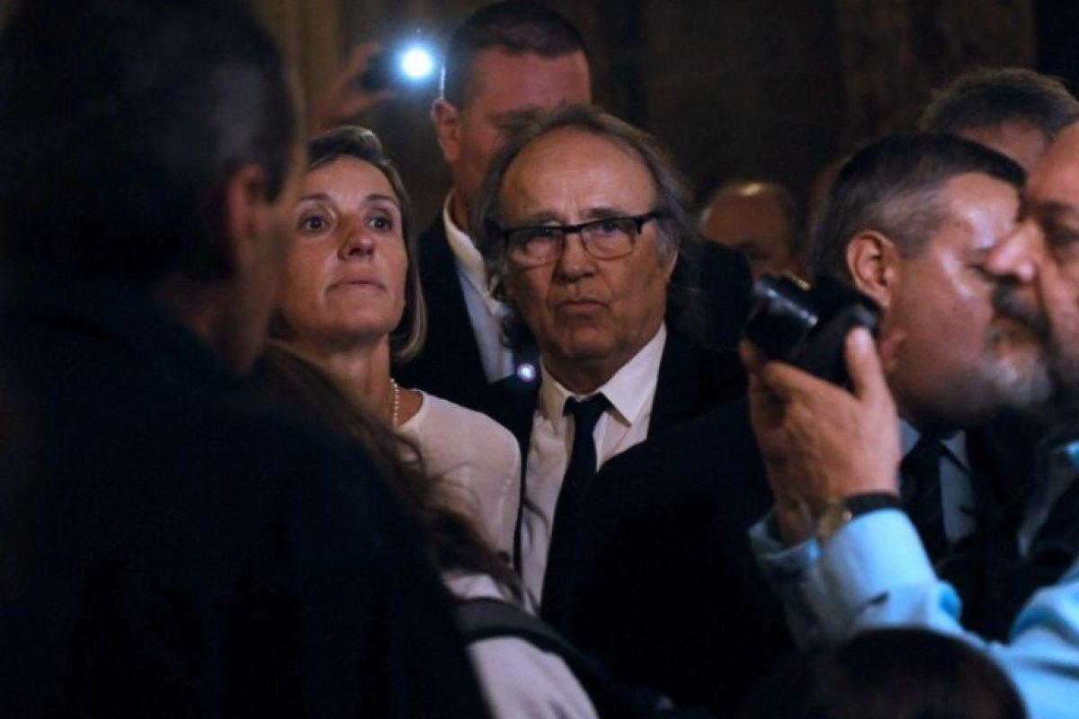 También asistió el cantante Joan Manuel Serrat Foto:AFP