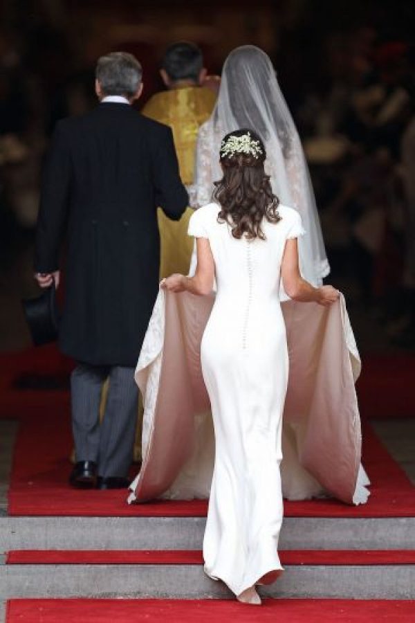 3. Su nombre completo es Pippa Charlotte Middleton. Foto:Getty Images