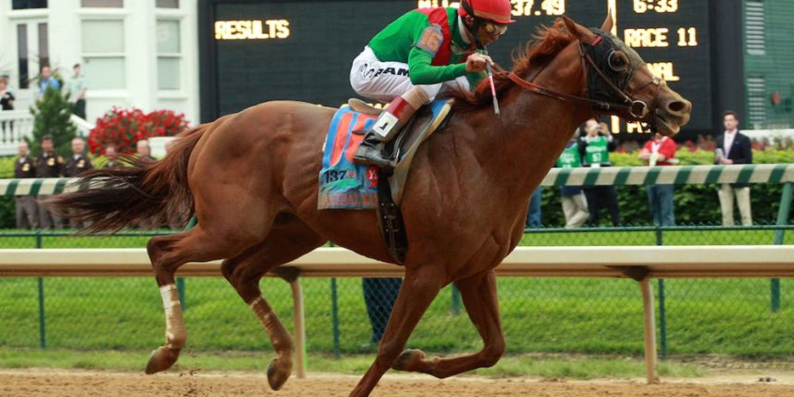 Derby de Kentucky – Louisville, Kentucky, Estados Unidos. Foto: Getty Images