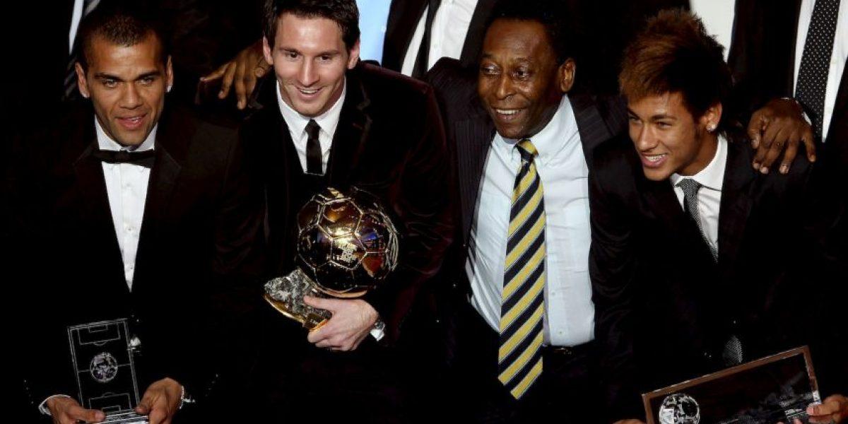 Pelé prefiere a Messi sobre Cristiano