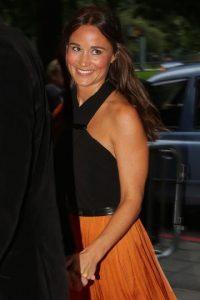 6. Fue la dama de honor en la boda de su hermana y el príncipe Guillermo. Foto:Getty Images