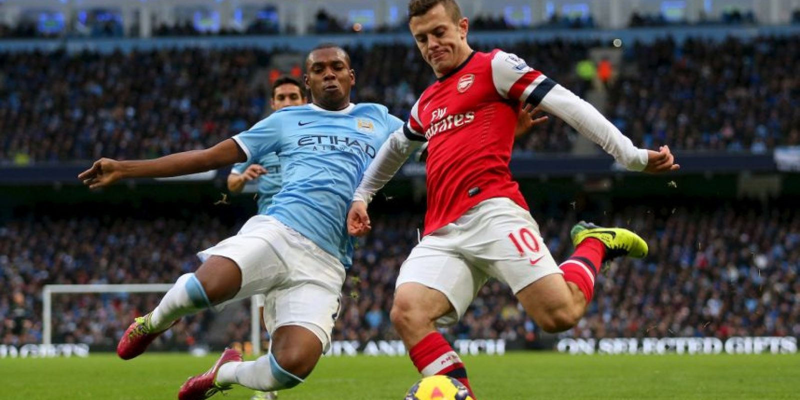 Arsenal vs. Manchester City Foto:Getty Images
