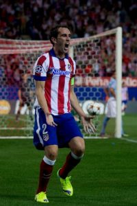 Una vez más fue el líder de la zaga del Atlético de Madrid Foto:Getty Images