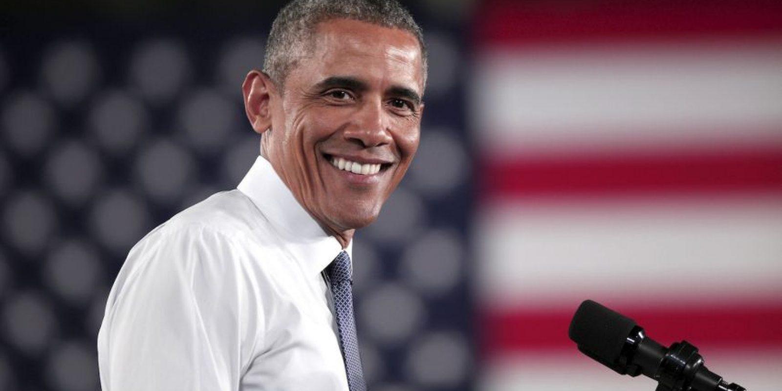 El presidente de Estados Unidos indicó a un periodista que su alimento favorito era el brócoli. Foto:Getty Images