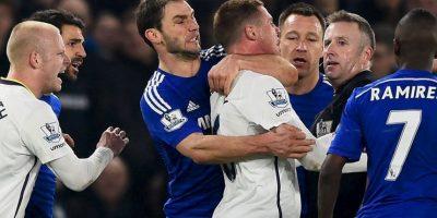 """Los """"Blues"""" de José Mourinho han causado polémica a lo largo de la temporada por su comportamiento dentro de la cancha. Foto:Getty Images"""