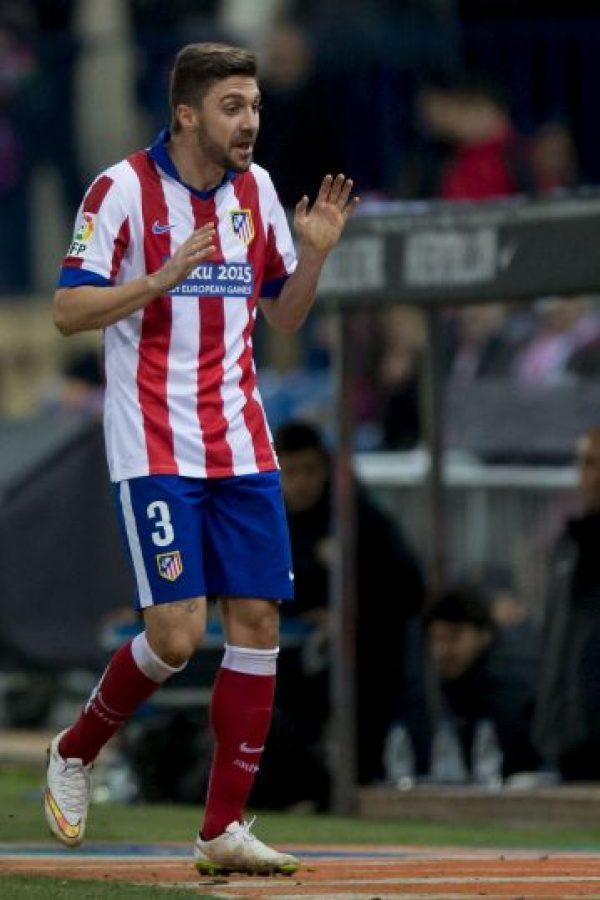 """Defendió de buena forma en el partido del Atleti contra los """"merengues""""; además tuvo un par de ocasiones de peligro de gol Foto:Getty Images"""