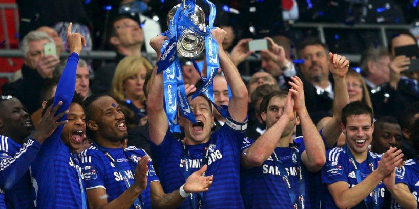 """El club inglés Chelsea es, según los datos de la organización, el más """"trolleado"""" por los hinchas con 20 mil publicaciones abusivas. Foto:Getty Images"""