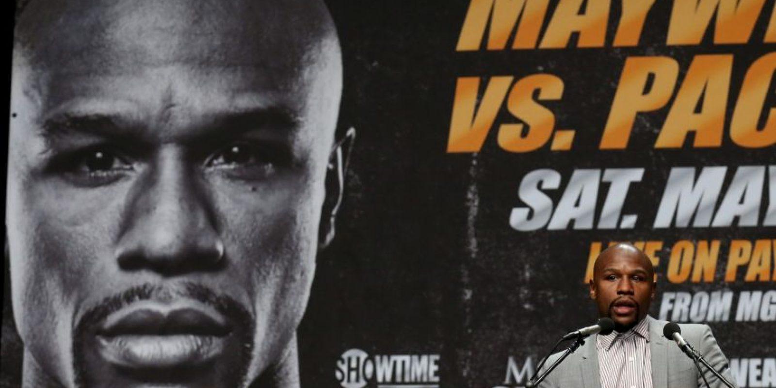 El combate se llevará a cabo el próximo 2 de mayo Foto:Getty Images