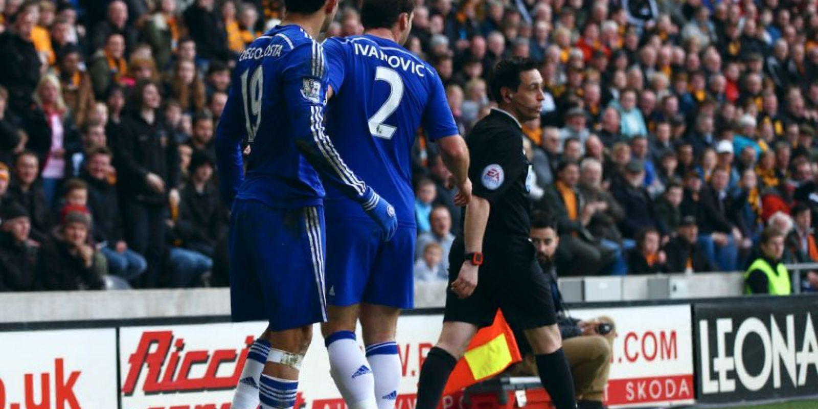Sin embargo, Chelsea está en primer lugar de la clasificación con 73 puntos. Foto:Getty Images