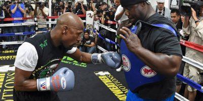 Así se ha preparado el boxeador que se encuentra invicto a sus 38 años Foto:Getty Images