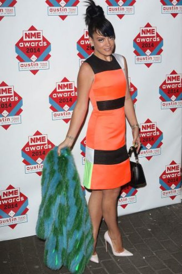 Lily Allen es una cantante de pop, hija del comediante Keith Allen y la productora Allison Owen. Foto: Getty Images
