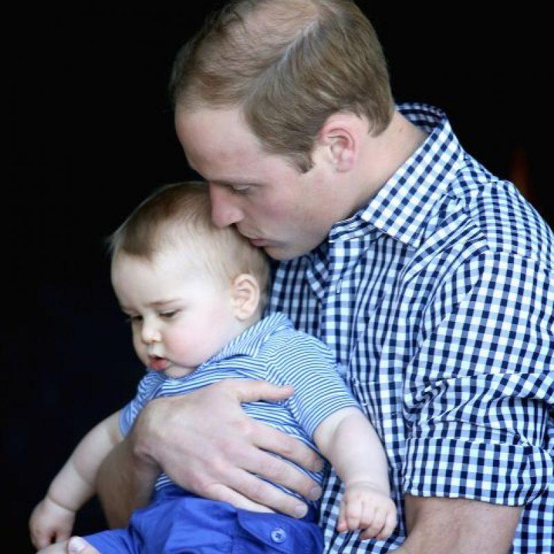 8. El 22 de julio de 2013 nació el príncipe George. Foto:Getty Images