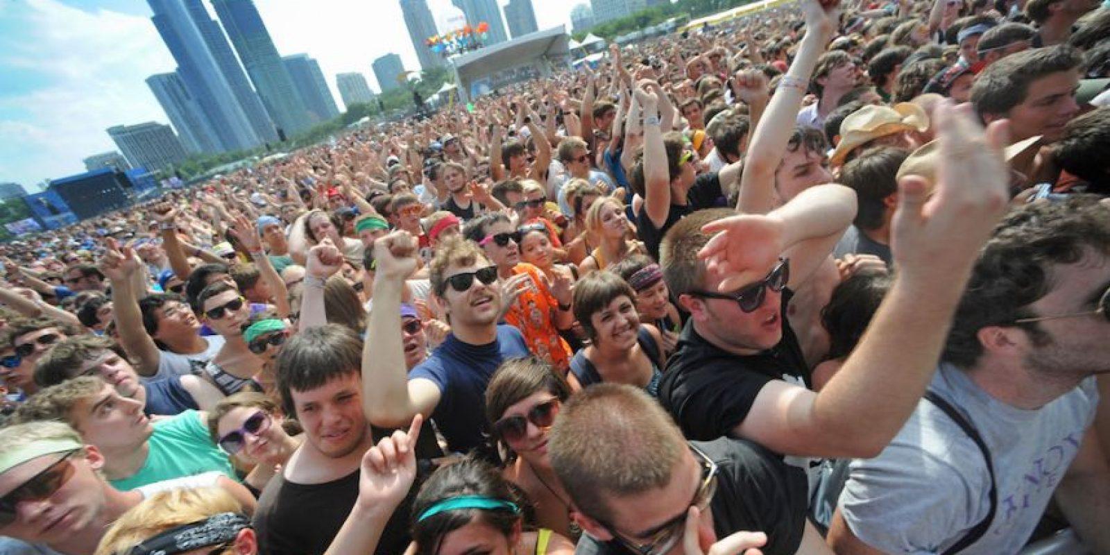 El festival que se realiza en la ciudad estadounidense de Chicago también los prohibió, al igual que tampoco pueden entrar narcisistas. Foto:Getty Images
