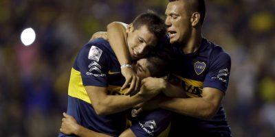 Boca terminó invicto la primera fase del torneo con seis victorias y 18 puntos. Foto:AP