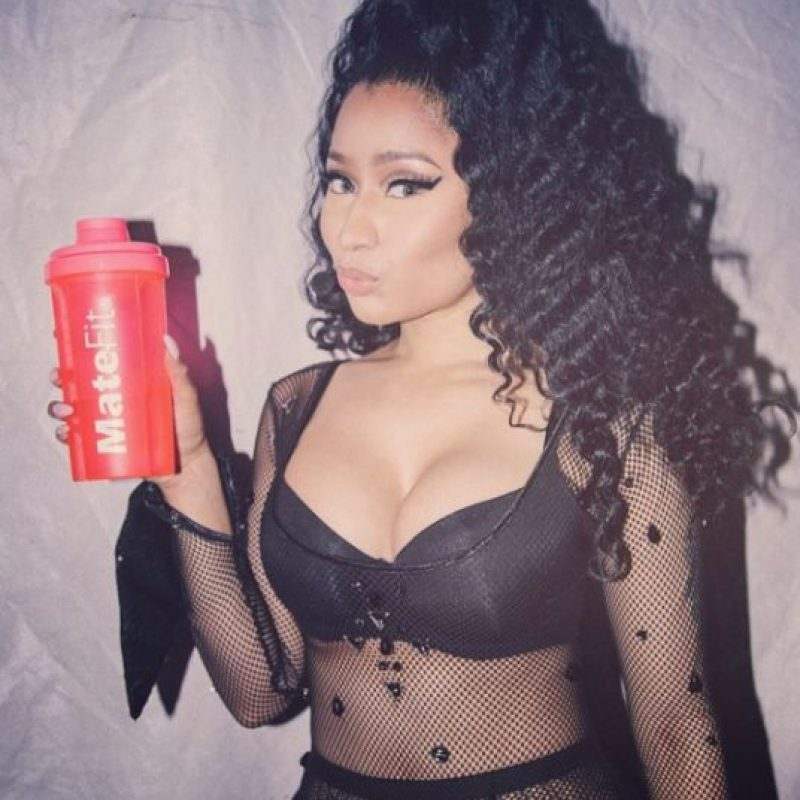 Meses más tarde, Minaj se relacionó con el rapero Meek Mill Foto:Vía Instagram.com/nickiminaj