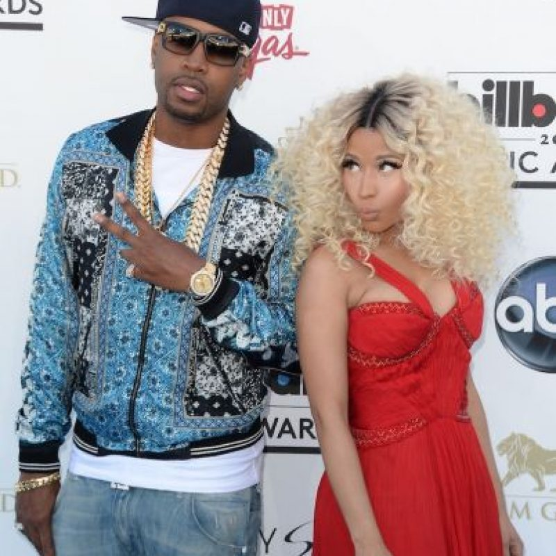 Después de 12 años de relación, Nicki Minaj terminó su noviazgo con Safaree Samuels en novimebre de 2014. Foto:Getty Images