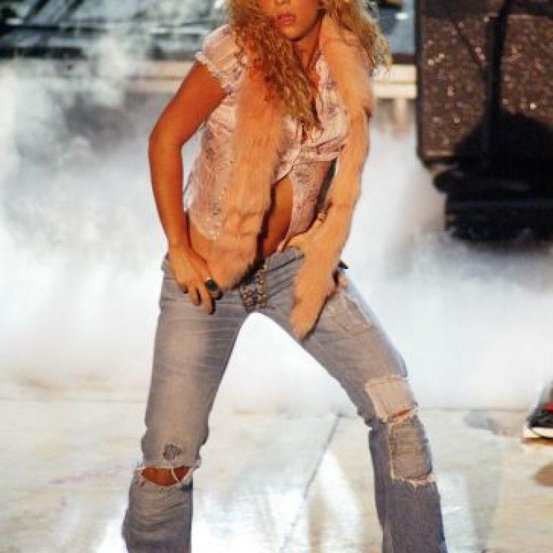 """""""(Shakira era) distinta, con otro color de pelo, con otra actitud, con otro estilo incluso, que después fue mejorando y sofisticando con los años"""", explicó """"Don Francisco"""" en una entrevista para los premios Grammy. Foto:Getty Images"""