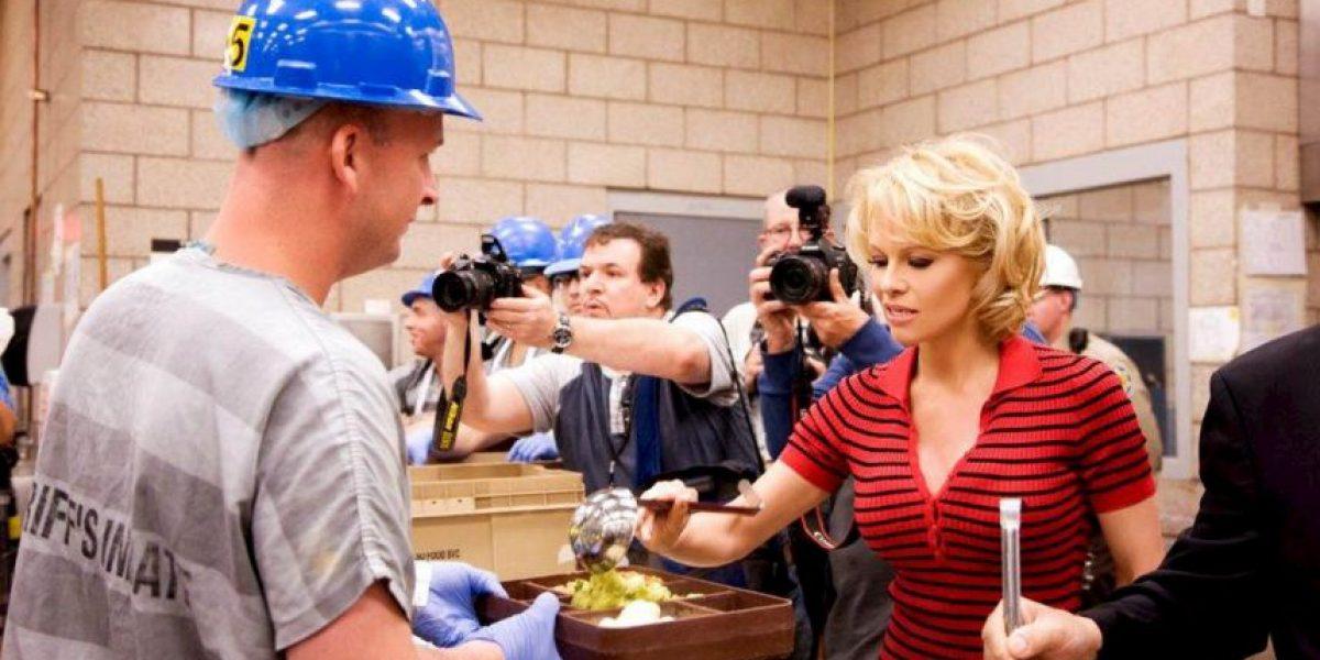 Pamela Anderson a la cárcel... para promover comida vegetariana