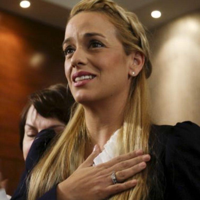 Tintori busca el apoyo de los mandatarios latinoamericanos. Foto:AP
