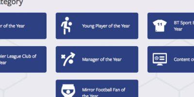 Aquí están las 7 categorías que tienen disponibles los hinchas de esta liga de fútbol. Foto:facebook.com/football/photos_stream