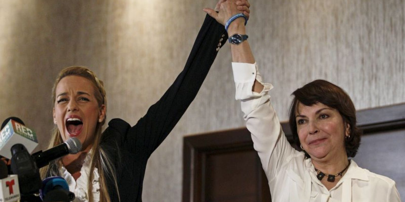 Lilian Tintori ha recorrido muchas países para abogar por la libertad de los presos políticos en Venezuela. Foto:AP