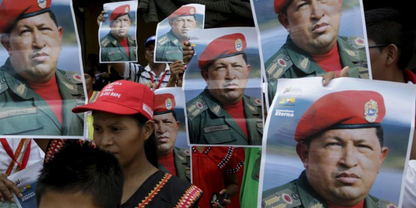 El legado de Chávez cada vez queda en el olvido. Foto:AP