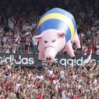 21. 10 de junio de 2004: Boca Juniors 1-0 River Plate Foto:Getty Images