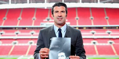 Nació futbolísticamente en el Sporting de Lisboa, de donde pasó al Barcelona de España. Foto:Getty Images