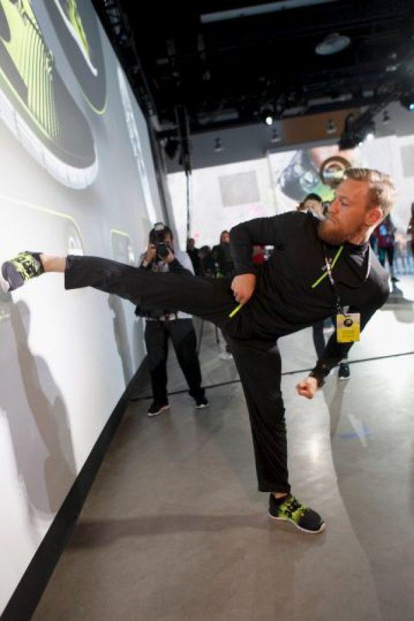 """Conor McGregor indicó que no necesitaría más de medio minuto para vencer al """"Money"""" Foto:Getty Images"""