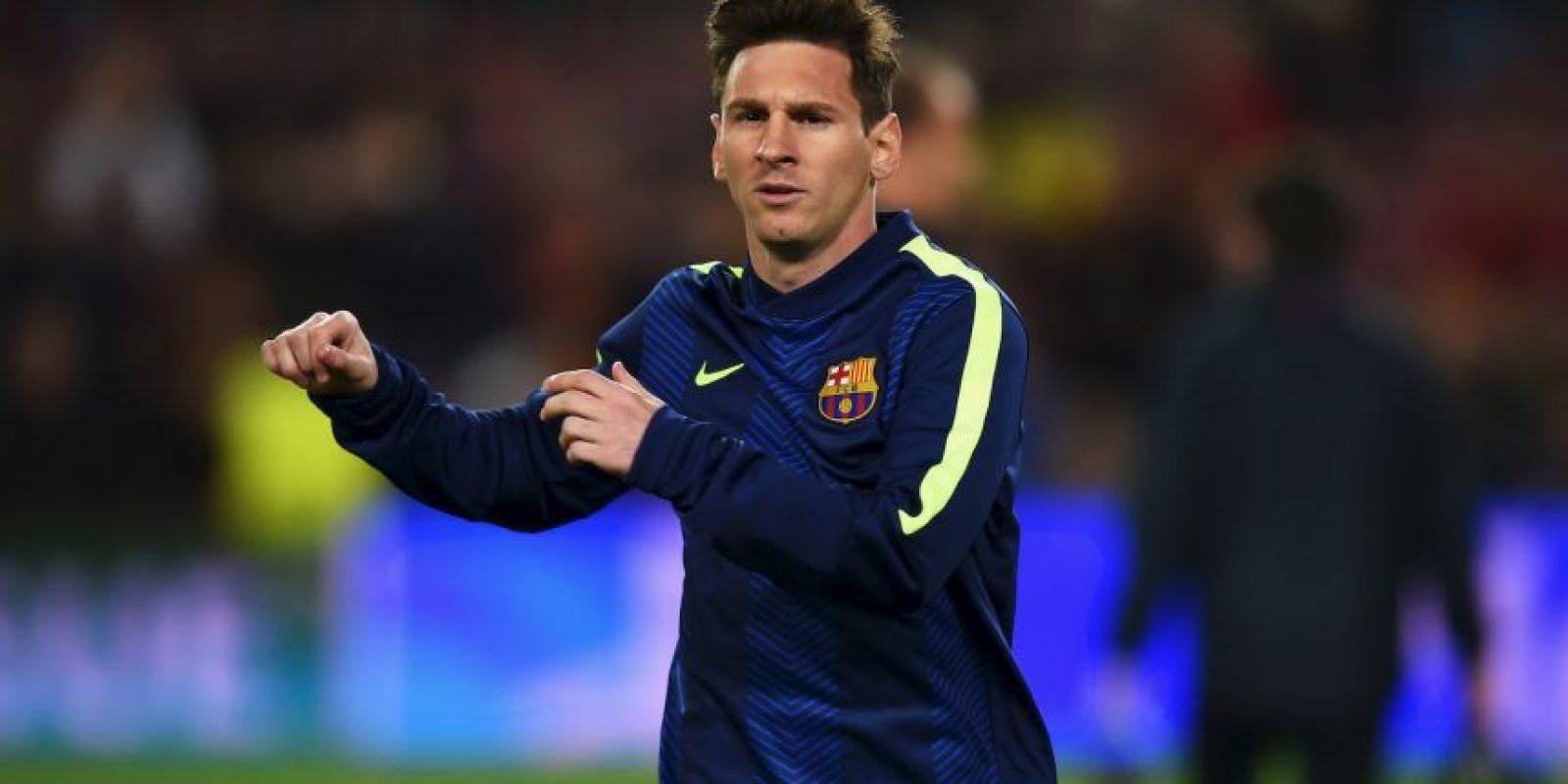 Desde 2014, se ha rumorado que Lionel Messi podría salir del Barcelona. Foto:Getty Images