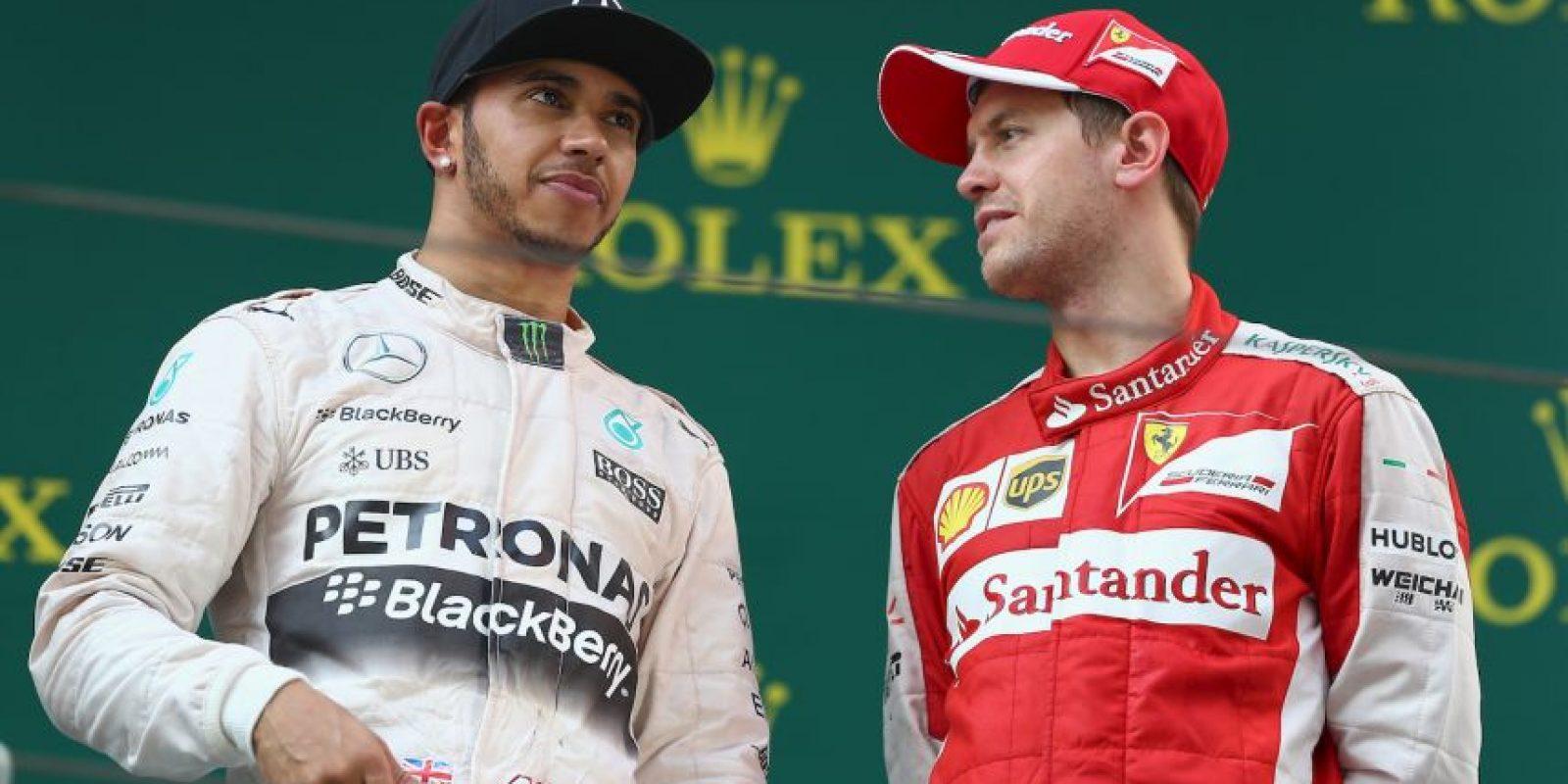 """""""Fernando (Alonso) es el piloto más fuerte contra el que he corrido en mi vida. Vettel no es imbatible, su coche es imbatible. Cuando lo vea el domingo antes del """"driver's parade"""" posiblemente le felicite"""", declaró en 2013. Foto:Getty Images"""