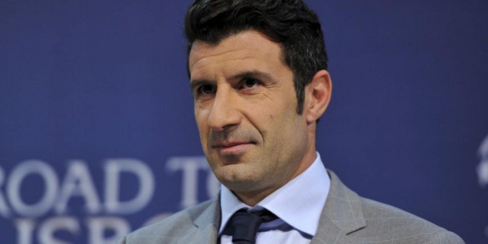 Luis Figo es un futbolista portugués retirado. Con 42 años, busca la presidencia de la FIFA. Foto:Getty Images