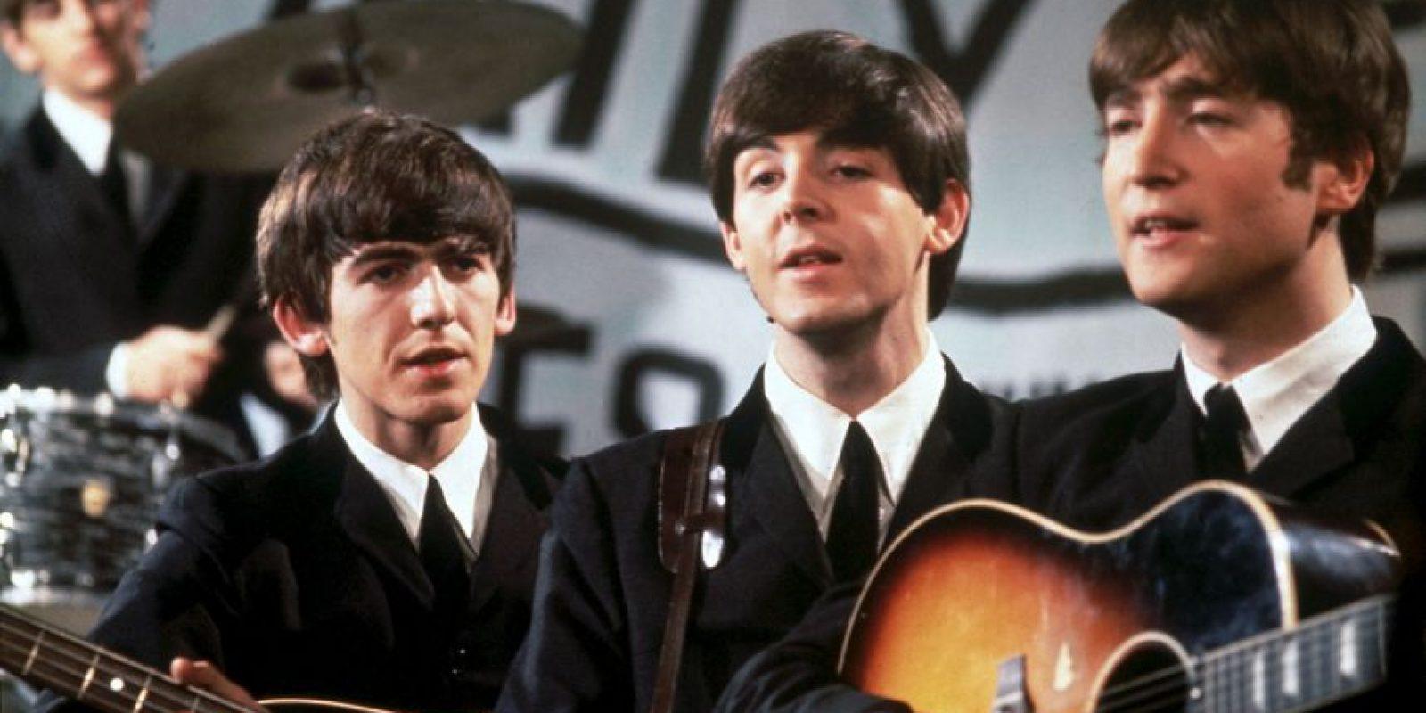 """4 de septiembre: Los Beatles graban su primer sencillo """"Love me Do"""" Foto:Getty Images"""