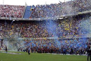 8. 30 de abril de 1970: Boca Juniors 1-1 River Plate Foto:Getty Images