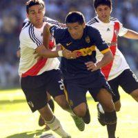 20. 24 de mayo de 2000: Boca Juniors 3-0 River Plate Foto:Getty Images